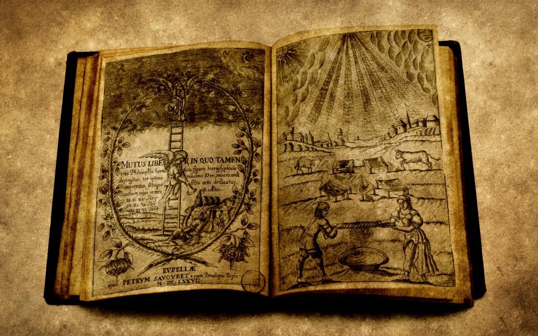 """""""Mutus Liber, la gran guía del alquimista"""" sección en Los Misterios nos miran"""